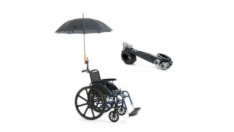 Portaparaguas para silla de ruedas eléctrica