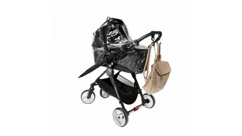 Burbujas para carritos de bebé en tiempos de lluvia