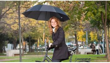 El soporte para paraguas y sombrillas más fácil de usar de todo el mercado
