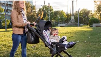 La importancia de salir a pasear con tu bebé