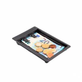 Small tray for hospitality payments