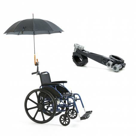 Umbrella holder with parasol accessory