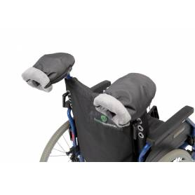 Manoplas silla de ruedas